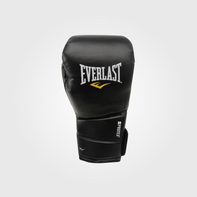 Боксерские перчатки Everlast Protex 2 Black