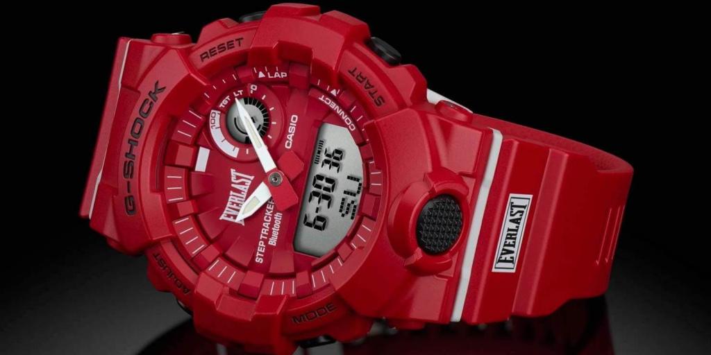 Casio и Everlast выпустили совместную модель фитнес-часов G-Shock