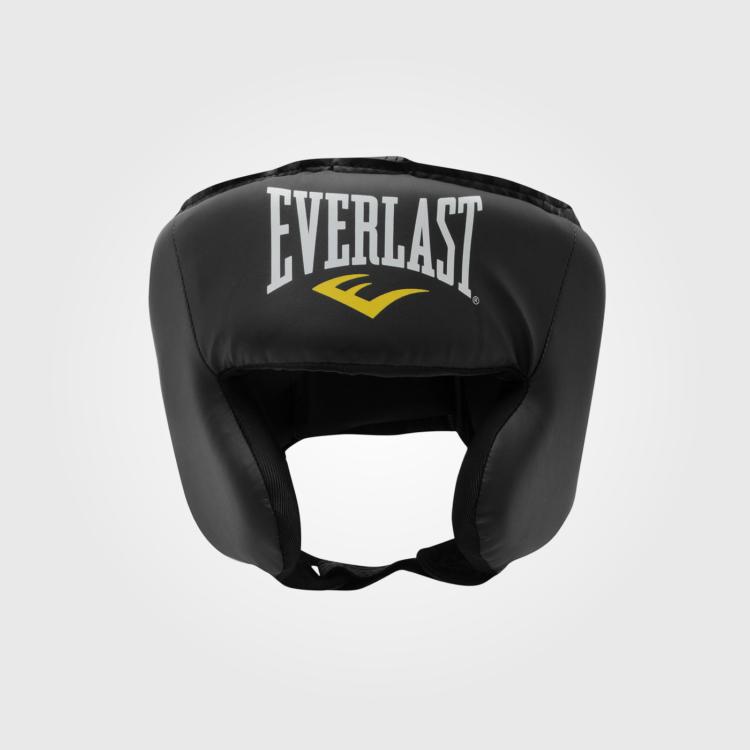 Шлем боксерский Everlast Headguard Black