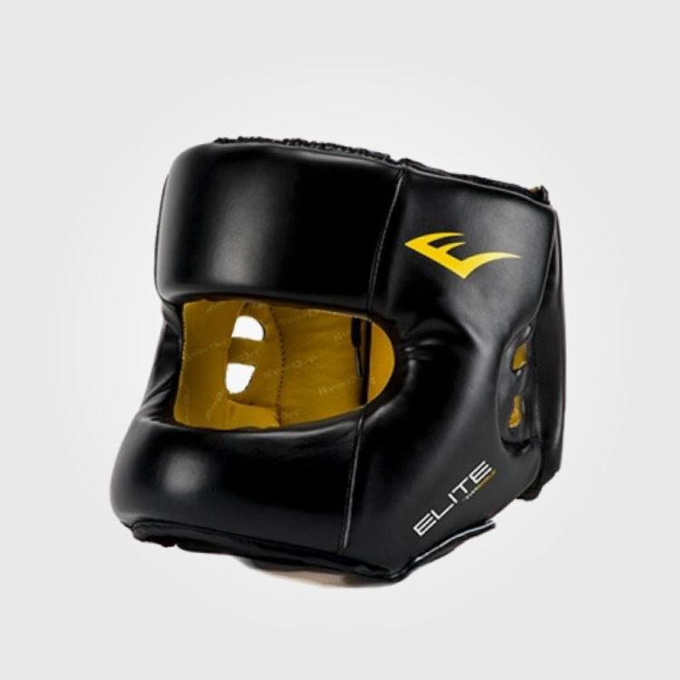 Шлем боксерский Everlast Elite Reinforced Premium Leather