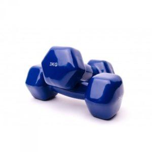 Гантели аэробные виниловые 3 кг - 2 шт Fitnessport VDD-01-3k