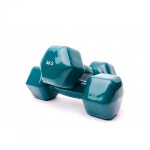 Гантели аэробные виниловые 4 кг - 2 шт Fitnessport VDD-01-4k