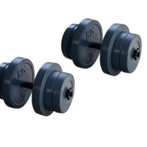Разборные гранилитные  гантели по 21 кг - 2 шт