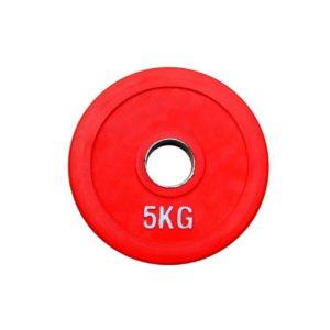 Диск олимпийский обрезиненный RN-sport alex 5 кг