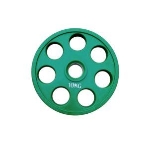 Диск олимпийский обрезиненный RN-sport alex 10 кг
