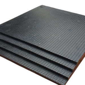 Коврик резиновый 500 х 500 х 7 под штангу или гантели
