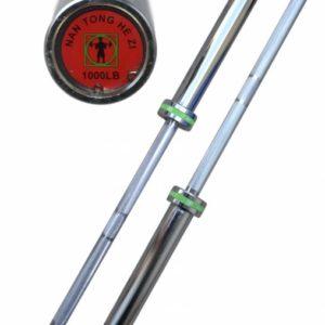 Гриф олимпийский с подшипниками, хромированный 2.2 метра, 20 кг (50 мм)
