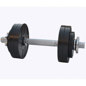 Гантель обрезиненная наборная 7 кг Rn-Sport