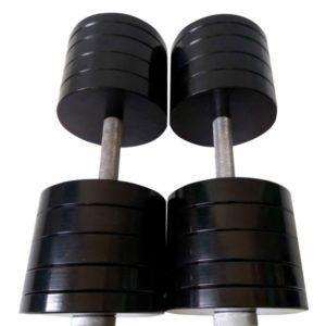 Гантели разборные по 48 кг (сталь) с порошковой покраской