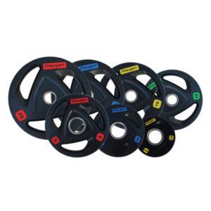 Диск обрезиненный Fitnessport 50 мм. 2,5-25 кг.