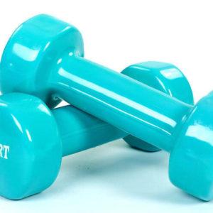Гантели для фитнеса с виниловым покрытием Beauty (2x0.5 кг)