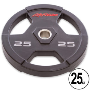 Блины (диски) полиуретановые  d-51мм Life Fintess  25кг