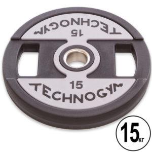 Блины (диски) полиуретановые d-51мм Technogym  15кг