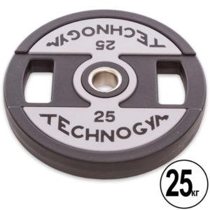 Блины (диски) полиуретановые d-51мм Technogym  25 кг