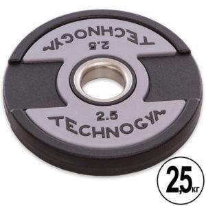 Блины (диски) полиуретановые d-51мм Technogym 2,5кг