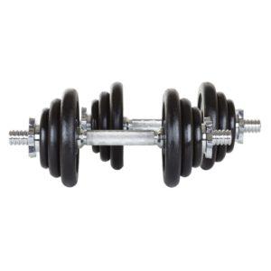 Гантели чугунные разборные Hop-Sport по 10 кг