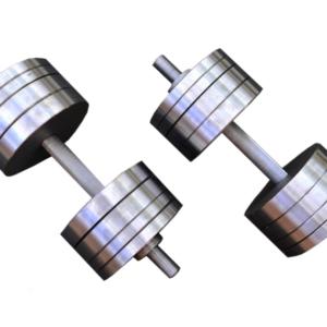 Две гантели стальные по 34 кг