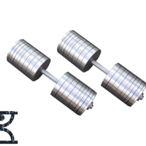 Две гантели стальные по 69 кг