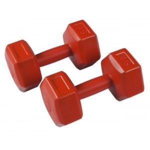 Гантели для фитнеса из пластика Filter по 3 кг