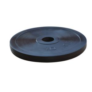 Диск RN-Sport стальной обрезиненный 10 кг - 27 мм