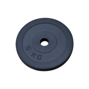 Диск RN-Sport стальной обрезиненный 5 кг - 27 мм
