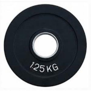 Диск олимпийский обрезиненный 1.25 кг
