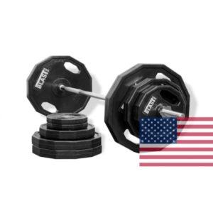 Олимпийский диск обрезиненный 1,25-2,5-5-10-20кг BLAST USA