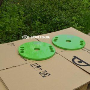 Диски стальные крашенные  2 по 10 кг - 51 мм