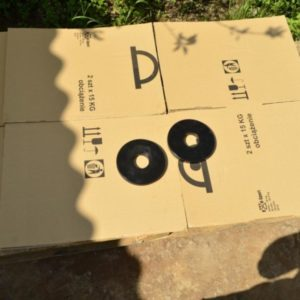 Диски стальные крашенные  2 по 2.5 кг - 51 мм