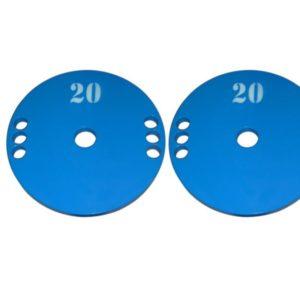 Диски стальные 2 по 20 кг - 51 мм
