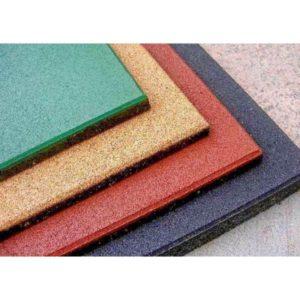 Модульное резиновое покрытие для спортзала