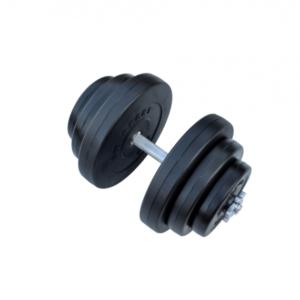 Композитная гантель RN-Sport 18 кг с хром грифом.