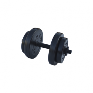 Гантель композитная RN-Sport 8 кг - 1 шт