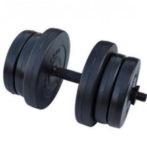 Гантель композитная RN-Sport 20 кг - 1 шт