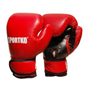 Боксерские перчатки кожвинил 6 унций