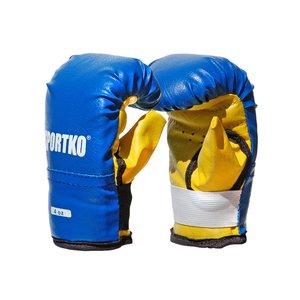 Боксерские перчатки кожвинил 4 унций