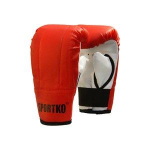 Боксерские перчатки Снарядные кожвинил