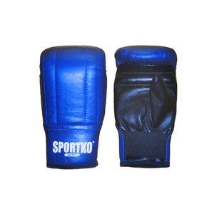Боксерские перчатки Снарядные кожа