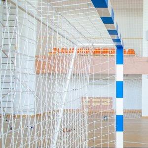 Ворота для минифутбола и гандбола разборные с полосами