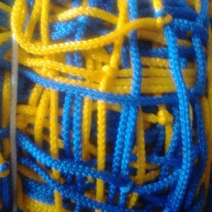 Сетка для мини футбола и гандбола 4,5 мм в цветах клуба