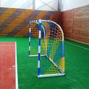 Сетка футбольная 4,5 мм для ворот 2000х1500 мм в цветах клуба