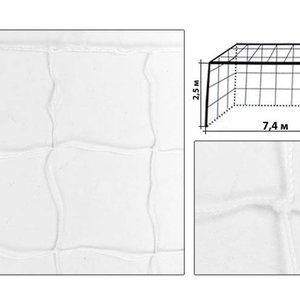 Сетка футбольная 2 мм для ворот 7320x2440 мм