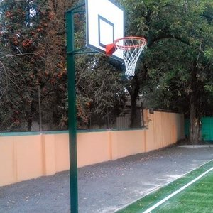 Комплект баскетбольный: стойка, щит, корзина и сетка
