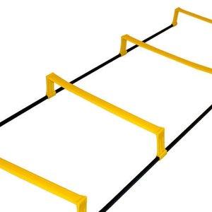 Координационная лестница дорожка с барьерами 4,3м