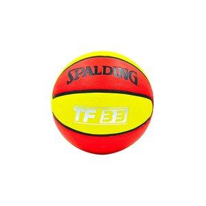 Мяч баскетбольный резиновый №7 Spalding TF-33