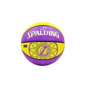 Мяч баскетбольный резиновый №7 Molten NBA Team Lakers