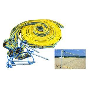 Разметка площадки пляжного волейбола