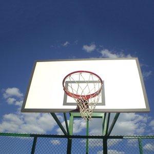 Баскетбольный щит 1200х900 мм игровой