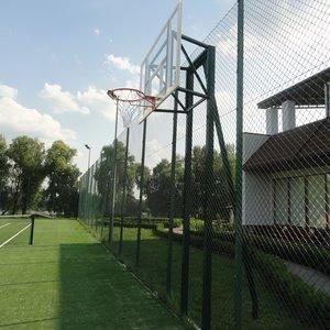 Баскетбольная стойка на двух опорах под щит Фиба