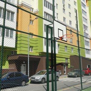 Баскетбольная стойка на двух опорах